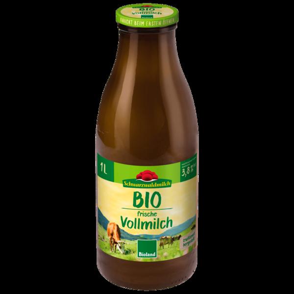 Schwarzwaldmilch Freiburg Bioland Vollmilch 3,8% 1l