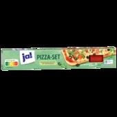 ja! Backfertiger Pizzateig mit Sauce 600g