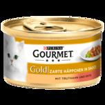 Gourmet Gold zarte haeppchen Truthahn 85g