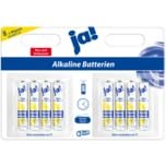 ja! Batterie Alkaline AA 8 Stück