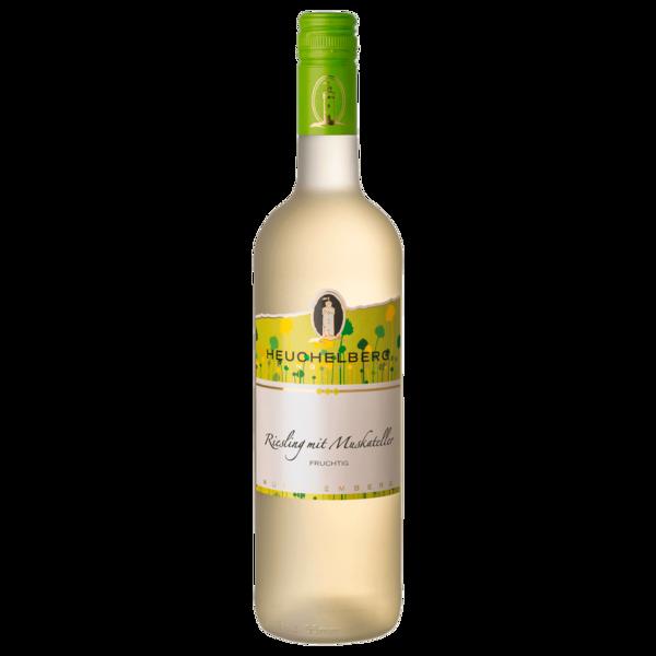 Heuchelberg Weißwein Riesling mit Muskateller lieblich 0,75l