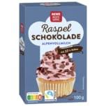 REWE Beste Wahl Raspelschokolade Vollmilch 100g