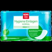 REWE Beste Wahl Hygieneeinlagen Normal 14 Stück