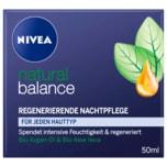 Nivea Natural Balance regenerierende Nachtpflege 50ml