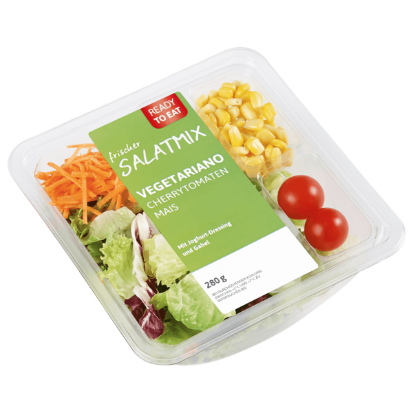 Ready to eat Salatmix Vegetariano 280g