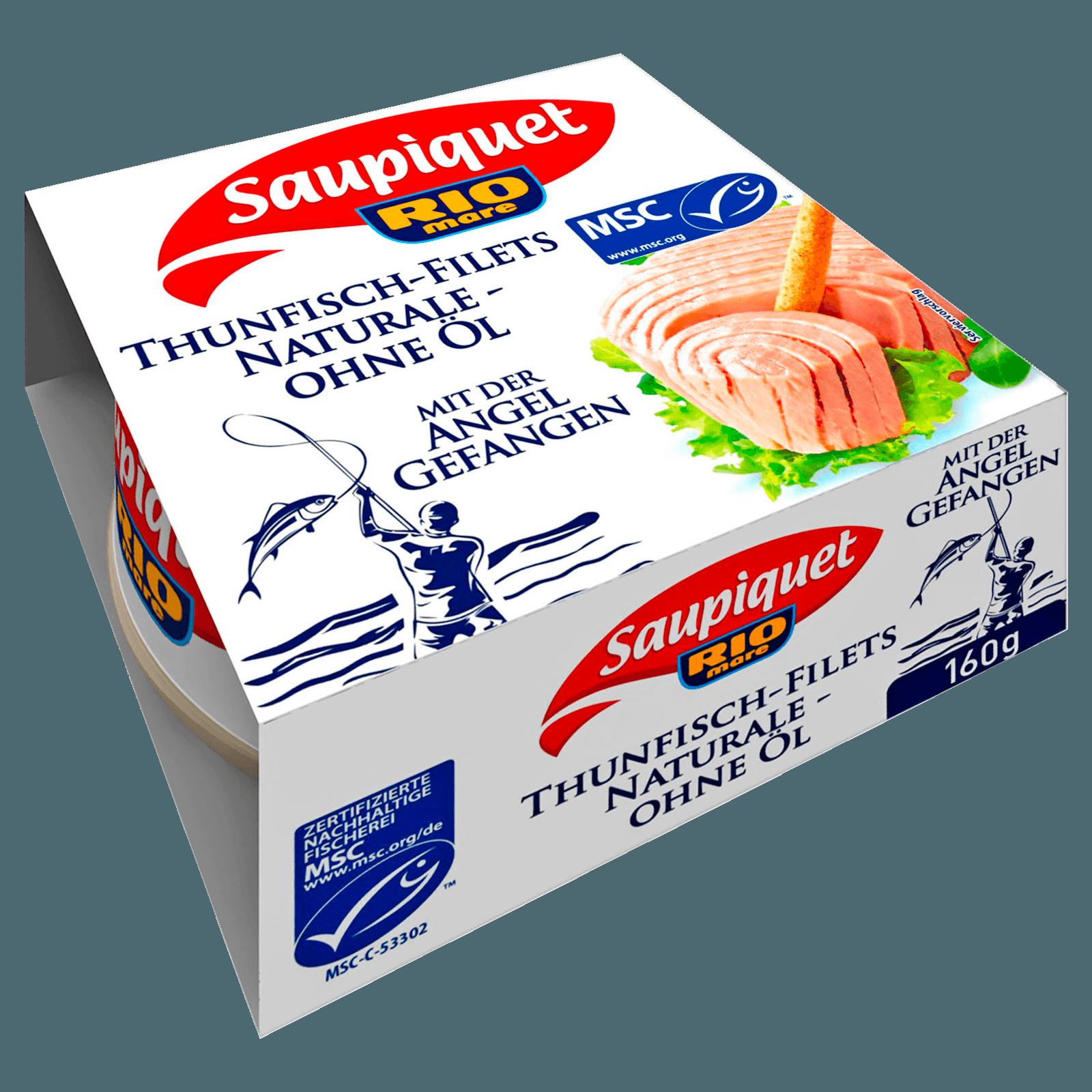 Saupiquet MSC Thunfisch-Filets Natur 112g