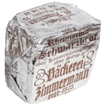 Zimmermann rheinisches Schwarzbrot 500g