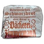 Zimmermann Rheinisches Schwarzbrot 250g