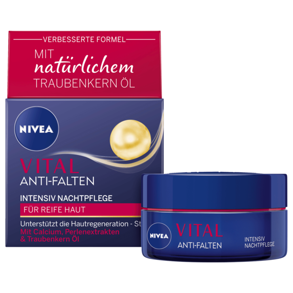 Nivea Vital regenerierende Nachtpflege 50ml