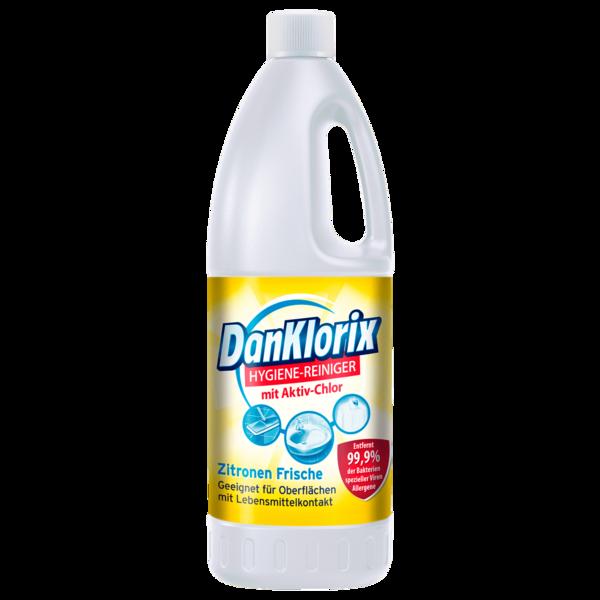 DanKlorix Hygiene Reiniger Zitronen Frische 1,5l