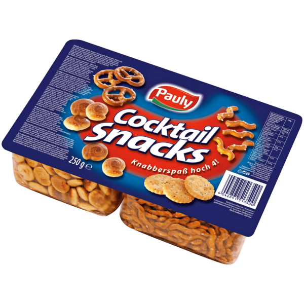 Pauly Cocktail Snack Blister 250g