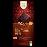 Gepa Sao Tomé 95% Bitterschokolade 80g