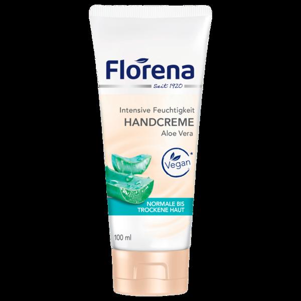 Florena Handcreme mit Aloe Vera vegan 100ml