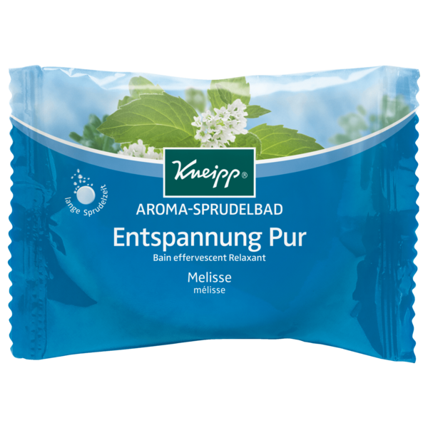 Kneipp Aroma-Sprudelbad Entspannung Pur Melisse 80g