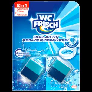 WC Frisch Duo-Aktiv Reinigungswürfel 2x50g