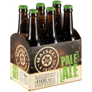 Maisel & Friends Pale Ale 6x0,33l