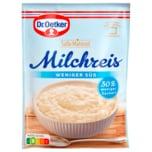Dr. Oetker Milchreis weniger süß 112g