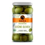 Gaea Biologische entsteinte grüne Oliven 290g