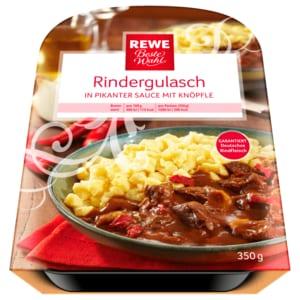 REWE Beste Wahl Rindergulasch 350g