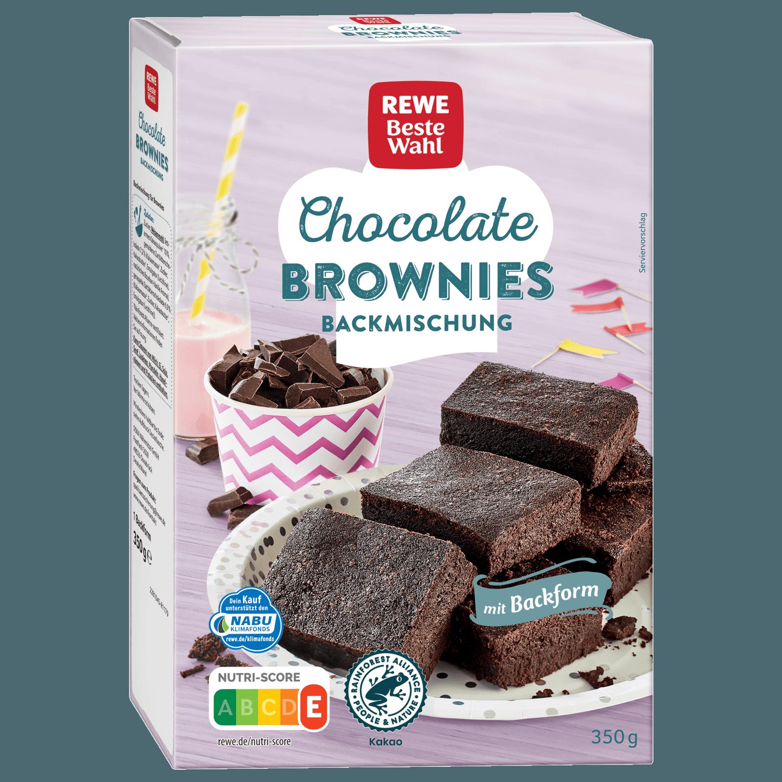 Rewe Beste Wahl Chocolate Brownies 360g Bei Rewe Online Bestellen