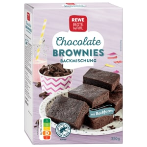 REWE Beste Wahl Chocolate Brownies 360g