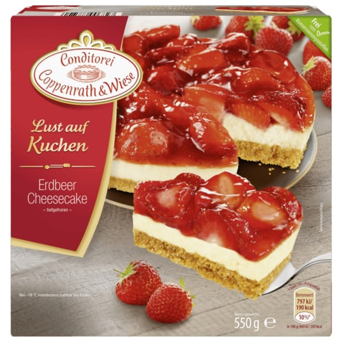 conditorei coppenrath wiese lust auf kuchen erdbeer frischk se 550g bei rewe online bestellen. Black Bedroom Furniture Sets. Home Design Ideas