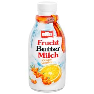 Müller Frische Buttermilch Limitiert Orange-Sanddorn 500g