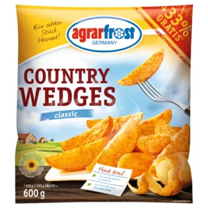 Agrarfrost Country Wedges Classic 600g