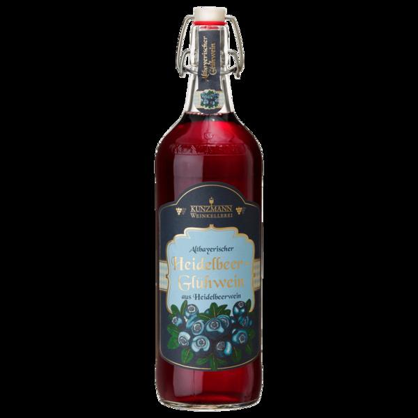 Kunzmann Weinkellerei Heidelbeer-Glühwein 1l