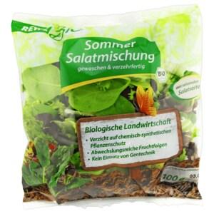 REWE Bio Sommermix Salat 100g