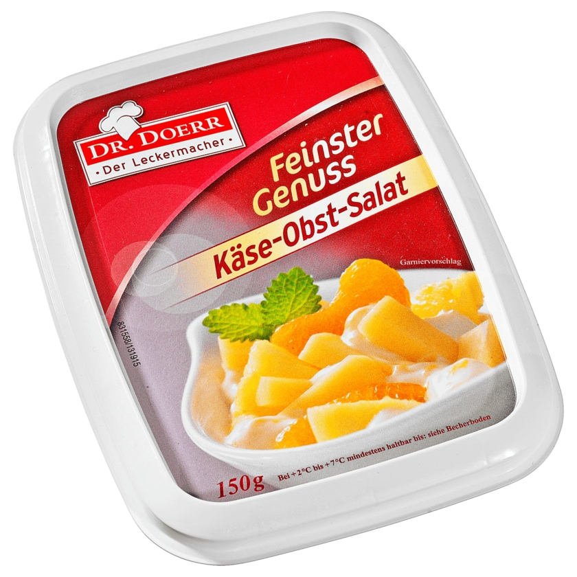 Dr. Doerr Feinster Käse-Obst-Salat 150g