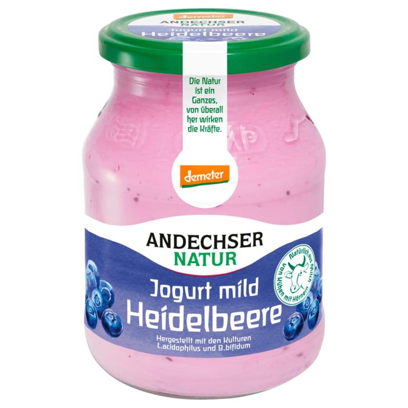 Andechser Natur Bio Heidelbeere Jogurt mild 500g