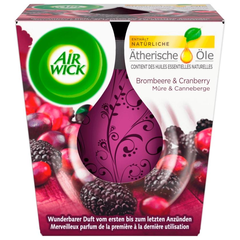 Air Wick Wohlfühl-Duftkerze Brombeere & Cranberry