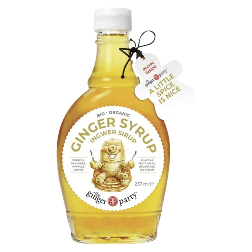 The Ginger Party Ingwer Sirup 237ml
