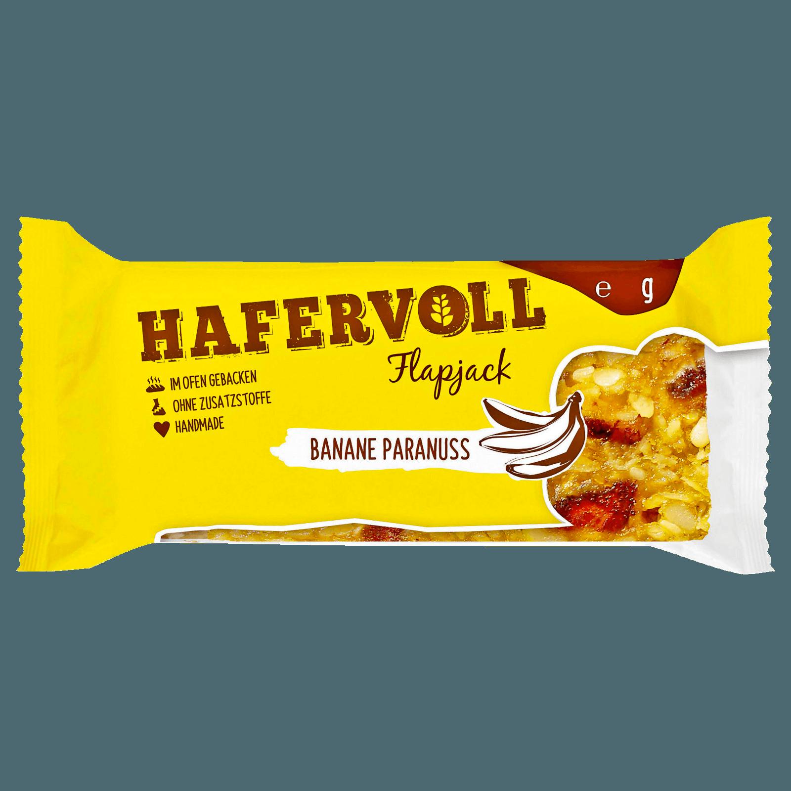 Hafervoll Flapjack Banane-Paranuss 65g