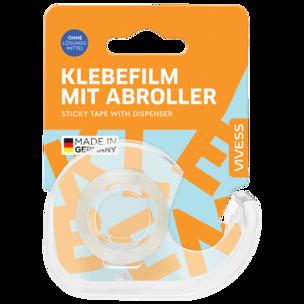 Vivess Abroller + Klebefilm