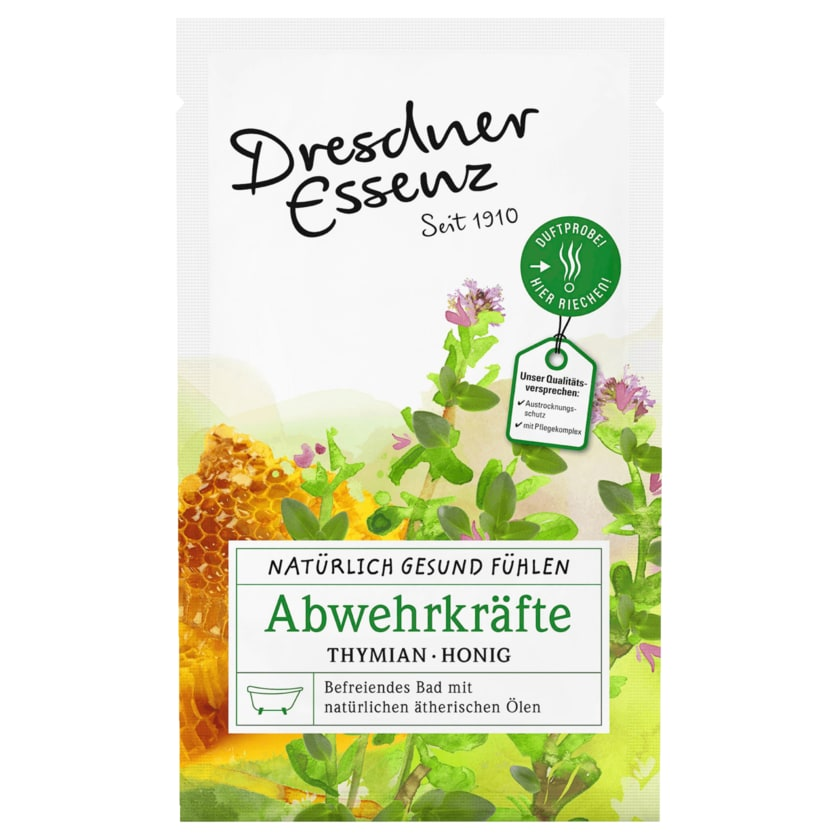 Dresdner Essenz Natürlich Gesund Fühlen Abwehrkräfte 60g