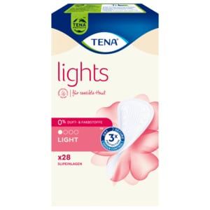 Tena Lady Lights Slipeinlagen Discreet 28 Stück