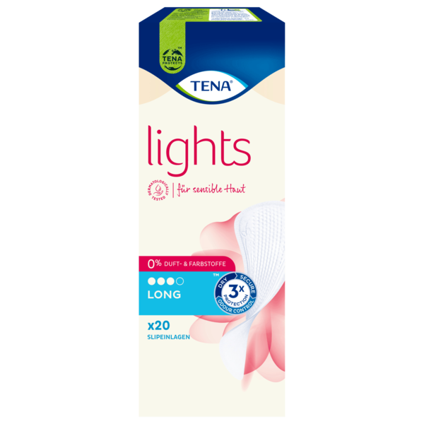 Tena Slipeinlagen Lights by Tena Long 20 Stück