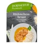 Dornseifer Frisch & Fertig Hähnchenbrust mit Currysauce und Reis 380g