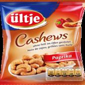 Ültje Cashews ohne Fett geröstet und pikant gewürzt mit Paprika 150g