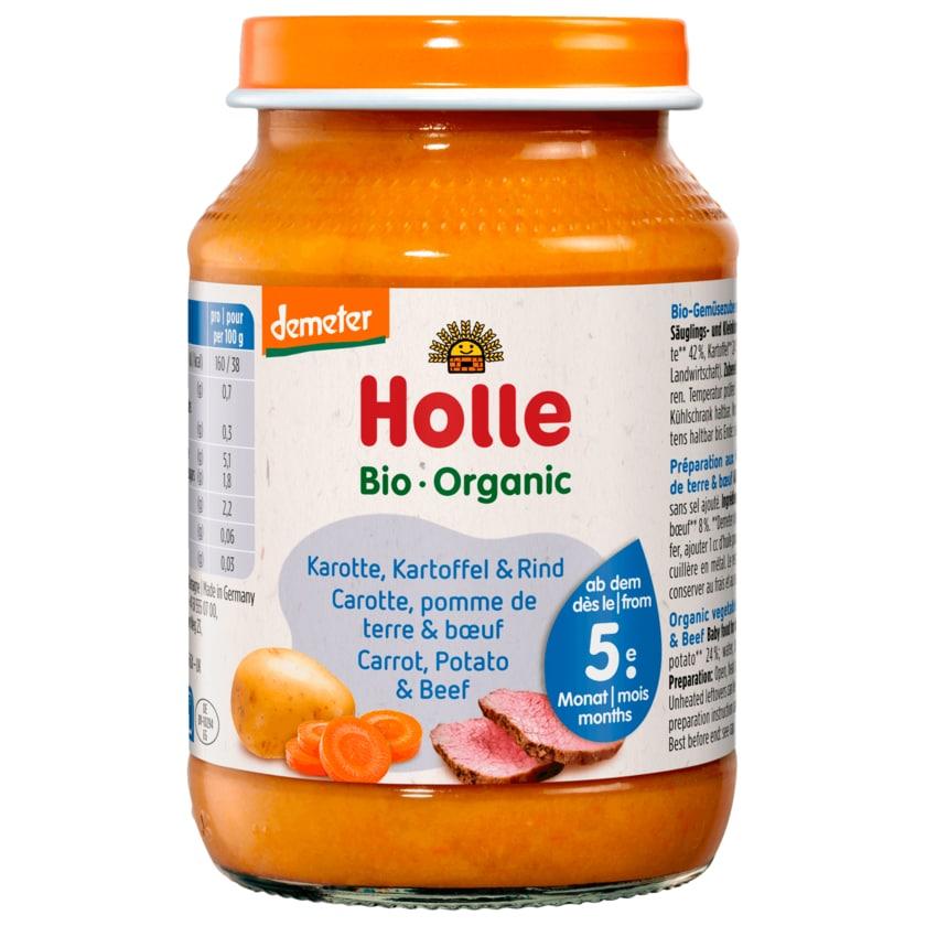 Holle Bio Demeter Karotte, Kartoffeln & Rind nach dem 4. Monat 190g