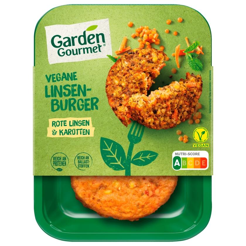 Garden Gourmet Vegane Linsenburger 160g