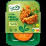 Garden Gourmet Vegetarische Fertiggerichte Vegane Linsenburger 160g