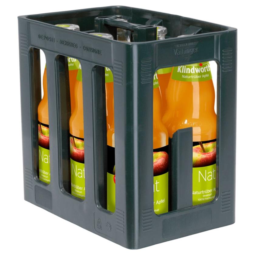 Klindworth Apfelsaft naturtrüb 6x1l