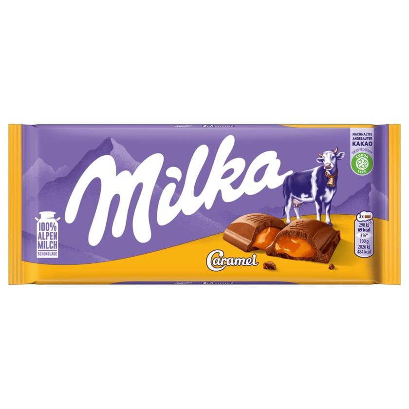 Milka Schokolade Caramel 100g