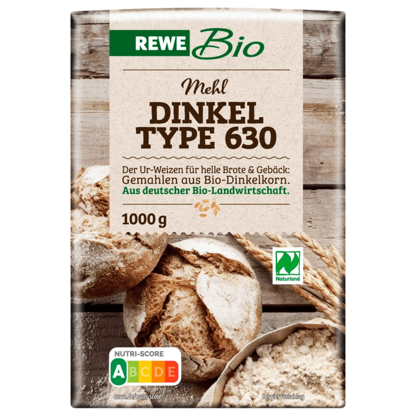 REWE Bio Dinkelmehl Type 630 1kg