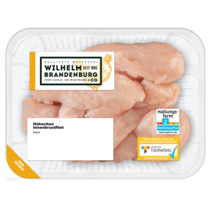Wilhelm Brandenburg Hähnchen-Innenbrustfilet 350g