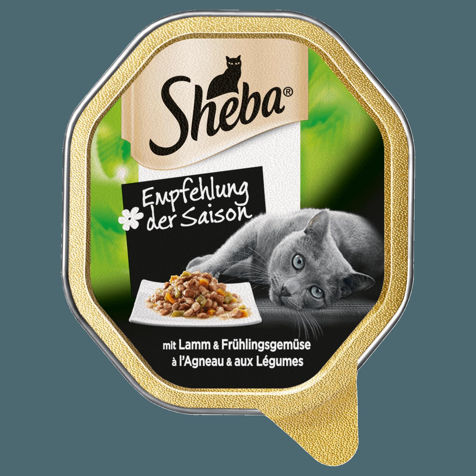 Sheba Katzenfutter Empfehlung der Saison 85g