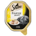 Sheba Finesse Mousse mit Huhn 85g